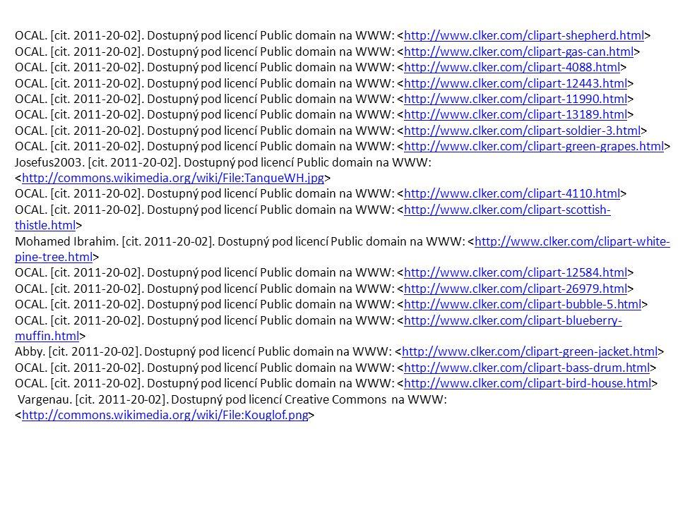 OCAL. [cit. 2011-20-02]. Dostupný pod licencí Public domain na WWW: <http://www.clker.com/clipart-shepherd.html>